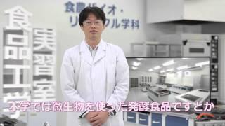 施設紹介 No.1 「食品工学実習室 part1 」(食農バイオ・リサイクル学科)