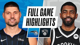 MAGIC at NETS | FULL GAME HIGHLIGHTS | February 25, 2021