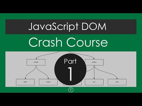 JavaScript DOM Crash Course - Part 1