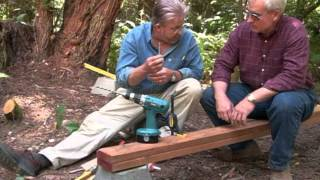 How To Build A Wooden Foot Bridge