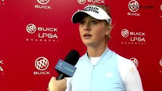 Jessica Korda Talks First Round of the 2019 Buick LPGA Shanghai