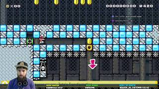 Super Mario Maker / Banzai Mario World [LIVE STREAM ARCHIVE]