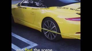 """""""فيديو"""" مصرع سائق أوبر عقب ارتطام لامبورجيني مورسيلاجو مسرعة بسيارته البويك في فلوريدا الأمريكية"""
