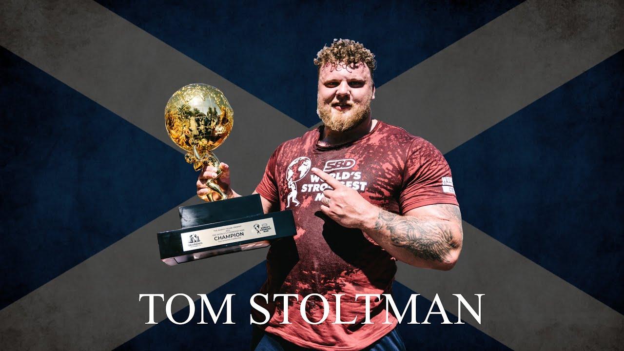Tom Stoltman   World's Strongest Man 2021   Strongman Motivation