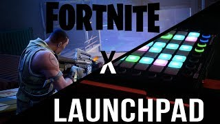 Playing Fortnite With A Launchpad Pro (Fortnite: Battle Royale)