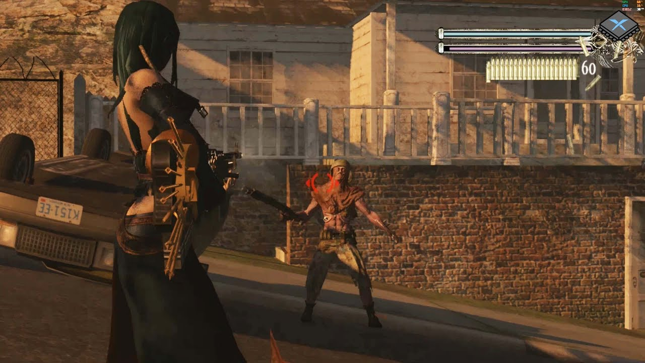 Xenia Xbox 360 Emulator - Bullet Witch Ingame / Gameplay! (088b1c21)
