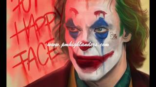 SpeedDrawing Joker Fan Art