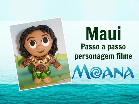 Maui , personagem Moana passo a passo