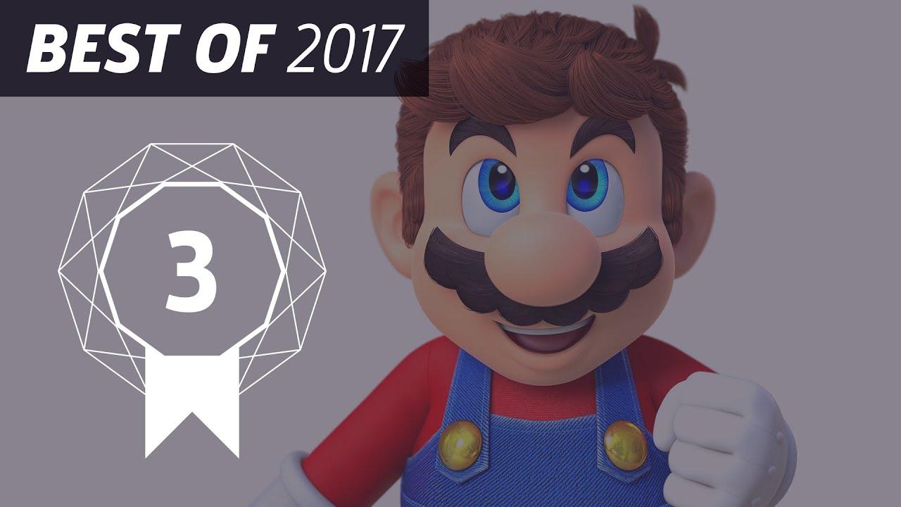 GameSpot's Best of 2017 #3 - Super Mario Odyssey - YouTube