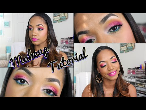 ❀ CHIT CHAT Makeup TUTORIAL ❀ Bold Brights w/ Viseart Editorial Bright Palette ❀