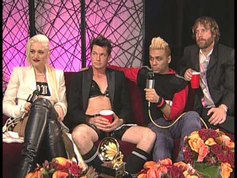 No Doubt Grammy 2003 band interview afterwards