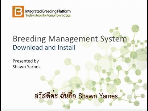 Download & Install Breeding Management System - THAI SUB