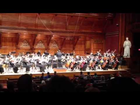 Stravinsky Firebird Infernal Dance, Motoki Tanaka conducts Boston Conservatory at Harvard