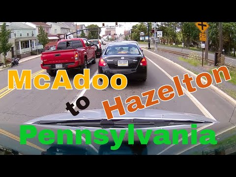 Driving Downtown - McAdoo to Hazelton - Pennsylvania - USA