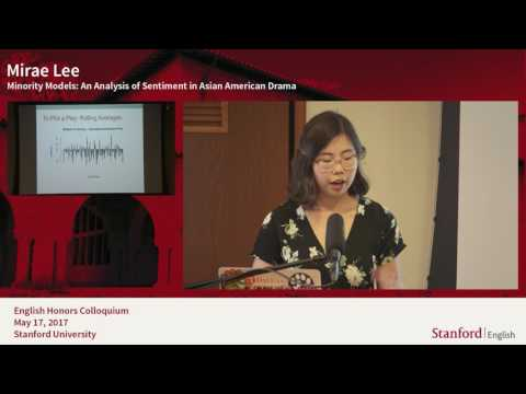 Stanford English Department Colloquium 2017 Part2
