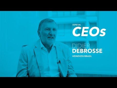 O marketing e o CEO: Didier Debrosse, presidente da Heineken