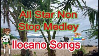 All Star Cast Ilocano Medley Songs