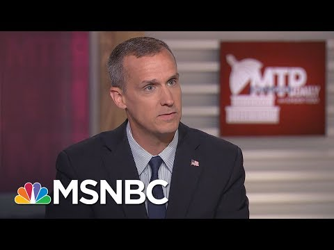 Corey Lewandowski: Notion Of Trump Campaign, Russia Collusion Is 'Preposterous' | MTP Daily | MSNBC