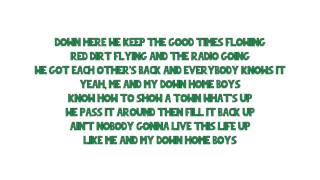 Cole Swindell - Down Home Boys (Lyrics)