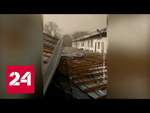 """""""Погода 24"""": На юге России начали устранять последствия шторма - Россия 24"""