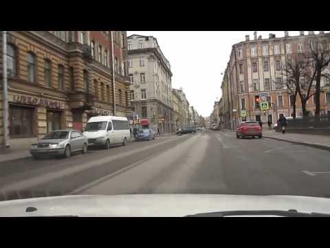 СПб №66 Узкие улочки Петербурга / Автовлог