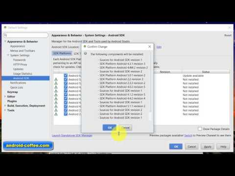 How To Add SDK Packages In Android Studio Tutorial VIDEO