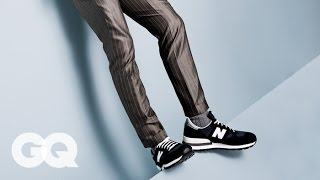How to Wear Sneakers with a Suit – Style and How-to | GQ