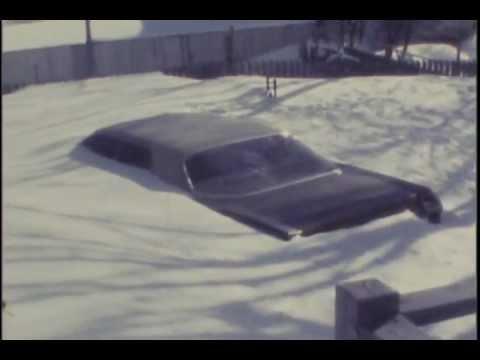 Blizzard of '78 Lynn, MA Evelyn St, Oakwood Ave, Alden St