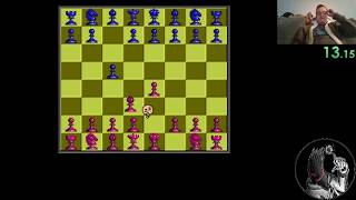 Battle Chess - 2D (Amiga) Speedrun in 0:55