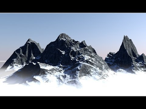 Making Mountain Using Terrain Mask In Cinema 4D Tutorial
