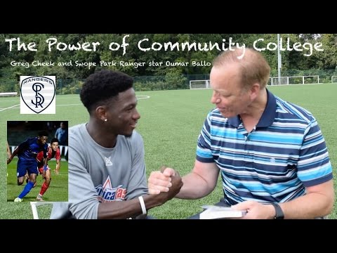 Community College Power, United Soccer League Star Oumar Ballo