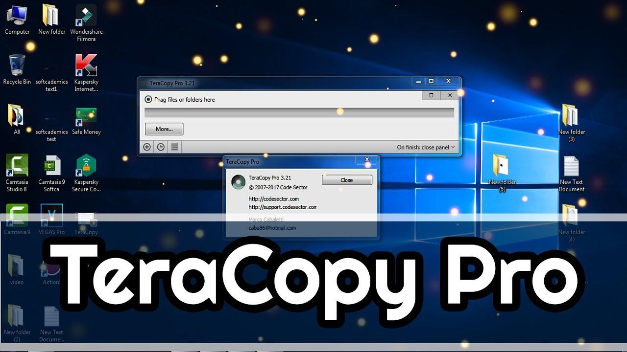 TeraCopy Pro 3.21 - Tăng Tốc Sao Chép (copy) Dữ Liệu Trên Máy Tính