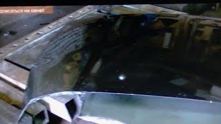 Рихтовка переломанного капота. Кузовной ремонт. BODY REPAIR