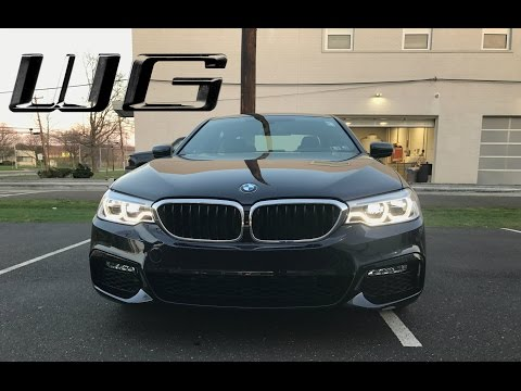 2017 Carbon Black 540i xDrive M Sport Overview | Exterior & Interior