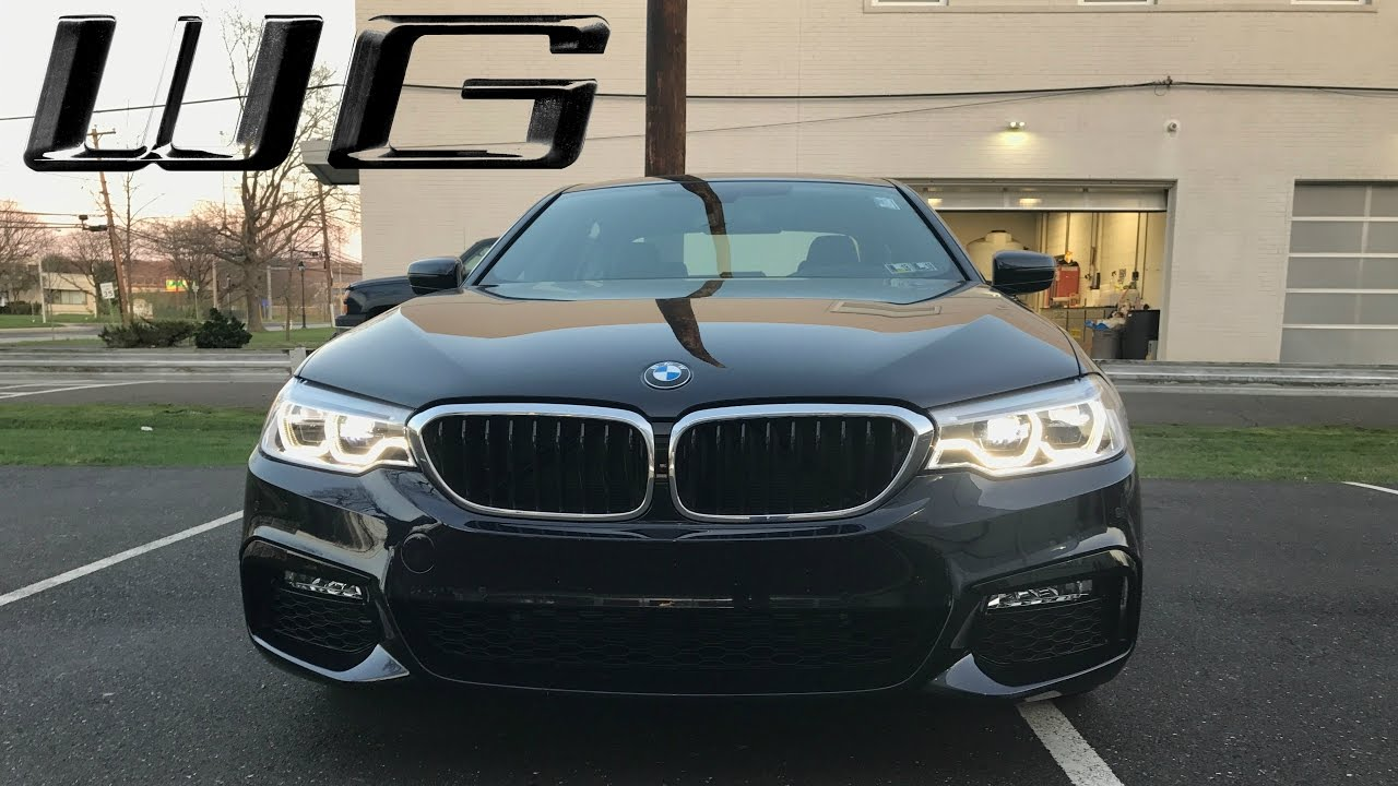 2017 Carbon Black 540i XDrive M Sport Overview
