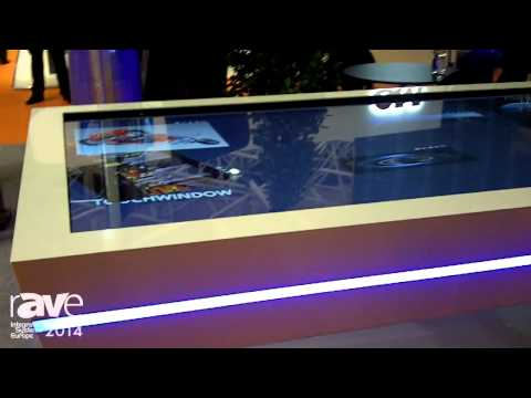 ISE 2014: MMT Showcases 84-inch Ultra HD Touch Table with Custom Table Design