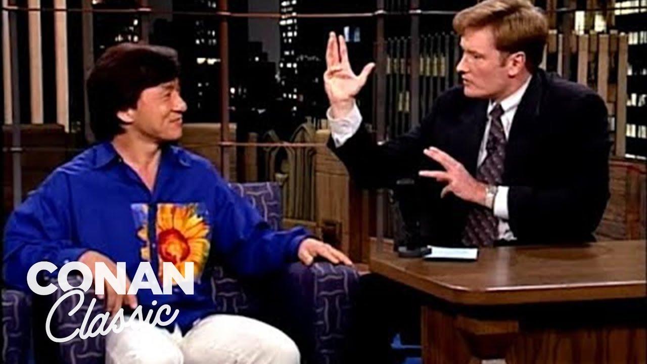Download Conan Attacks Jackie Chan | Late Night with Conan O'Brien