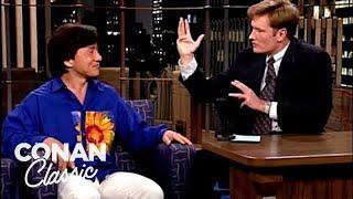 "Conan Attacks Jackie Chan - ""Late Night With Conan O'Brien"""