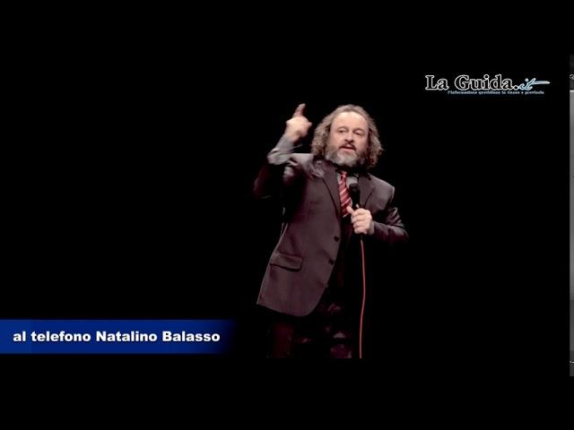 Natalino Balasso il 28 luglio all'Arena Festival di Cuneo