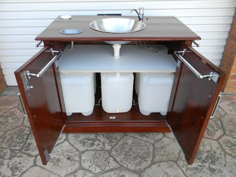 Best Camping Ideas Homemade Portable Sink Youtube