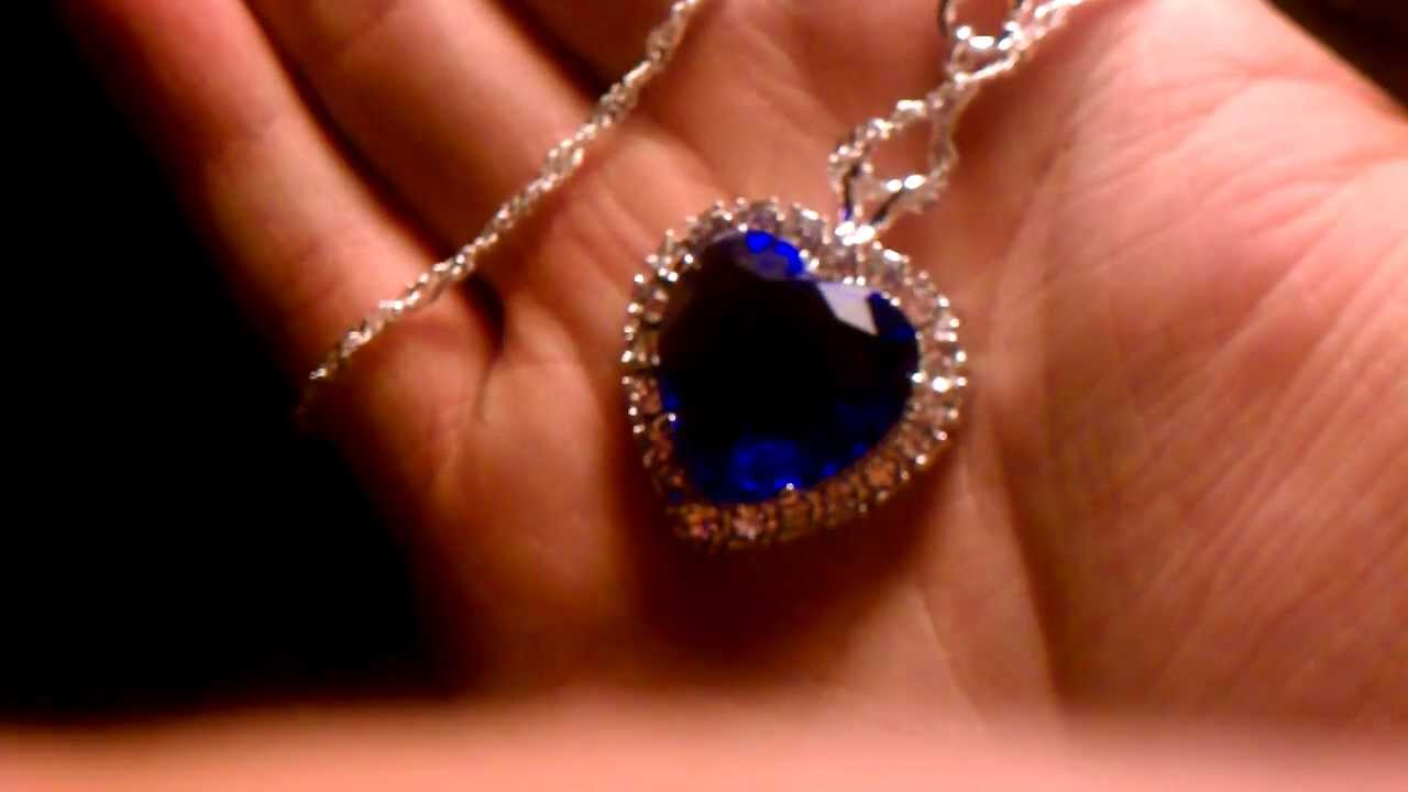 The titanic heart of the ocean necklace youtube aloadofball Choice Image