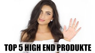 Top 5 High End Produkte   nude by nature, mac, benefit uvm.