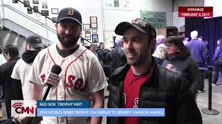 Cape Media News: World Series Trophy On Display at Cape Cod Beer