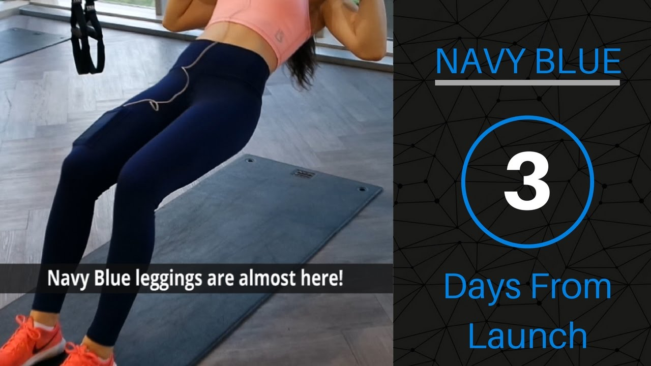 Introducing Navy Blue Lume Smart Leggings!