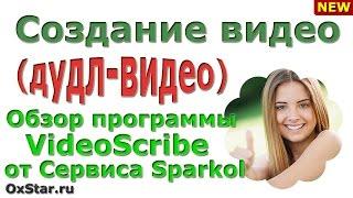 VIDEOSCRIBE от SPARKOL - Обзор программы. SPARKOL - Создание видео: Рисованное видео
