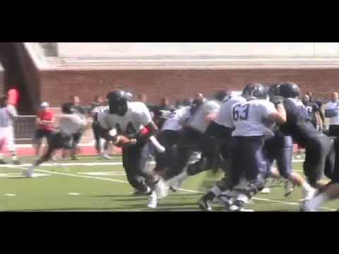 Football Highlights From First Scrimmage