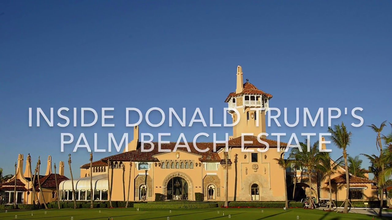 Video: Donald Trump's Palm Beach estate, Mar-a-Lago | Doovi