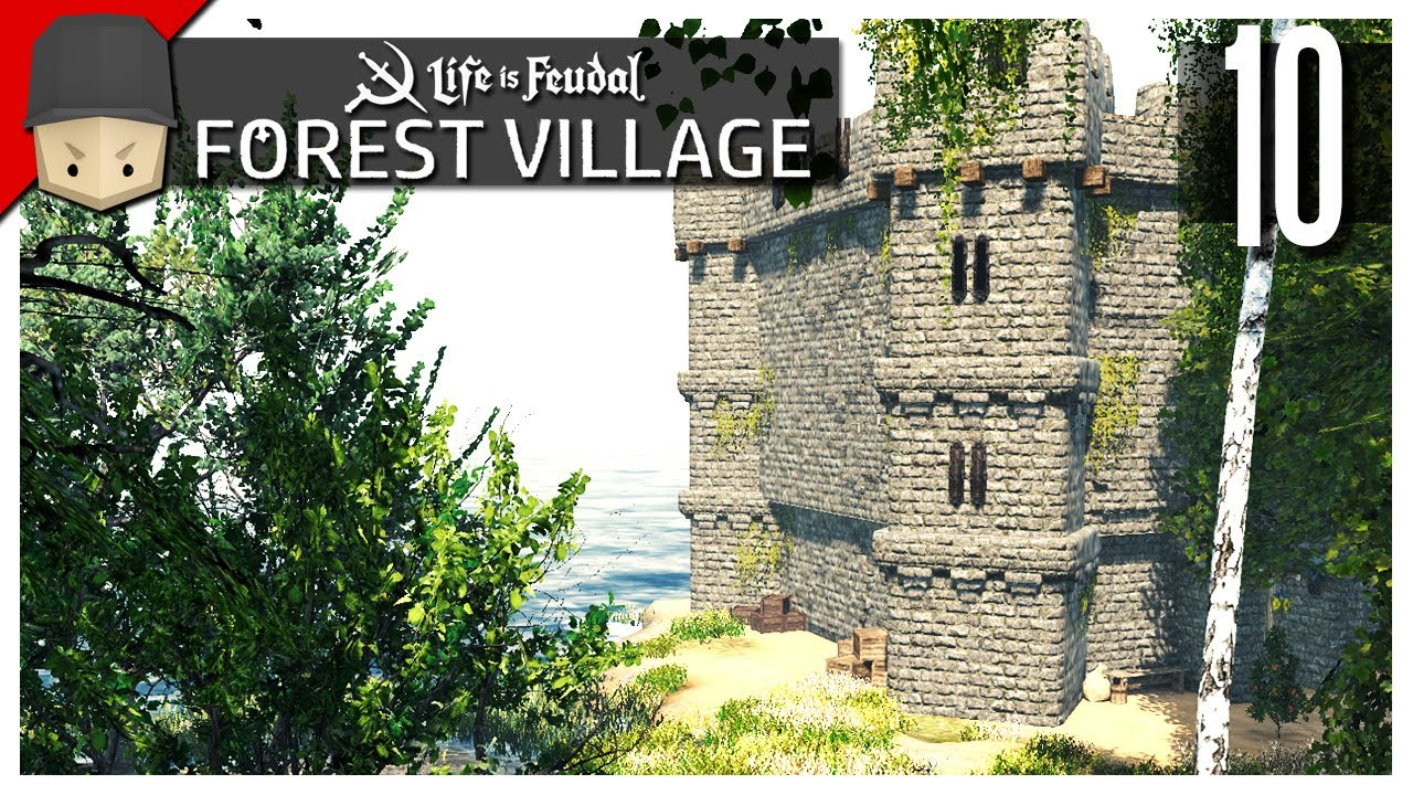 Life is Feudal Forest Village - Ep 10 : The Keep!