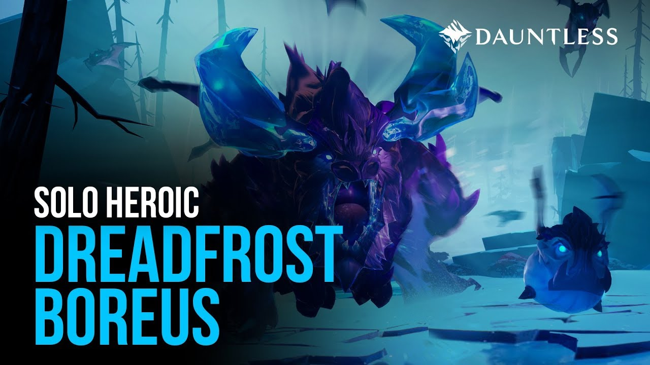 Solo Chain Blades Heroic Dreadfrost Boreus - Dauntless