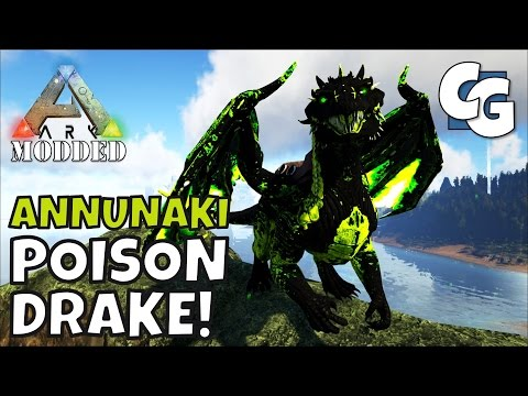 Modded ARK: Annunaki Genesis - Poison Drake! - S1E16 - Single Player Gameplay